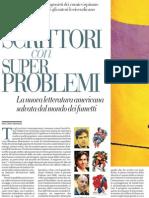 La Nuova Letteratura Americana Salvata Dal Mondo Dei Fumetti - La Repubblica 09.04.2013