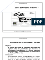 Administración de Windows NT 4 Server