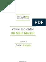 value indicator - uk main market 20130409