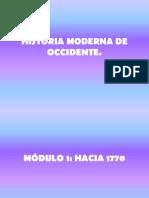 Historia moderna de occidente, módulo I