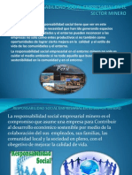 Responsabilidad Social Empresarial en El Sector Minero Ppt