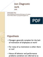 Motivation Diagnostic Framework
