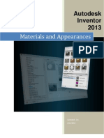 Autodesk Inventor 2013 Materials and Appearances