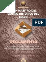 Plan Maestro Centro Historico Cusco