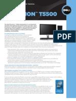 Dell Precision T5500 Brochure