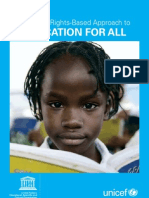A Human Rights Based Approach to Education for All