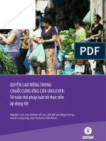 Labour Rights in Unilever's Supply Chain- From Compliance Towards Good Practices- Vietnamese Version