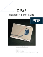 Menvier CPA6 User Guide