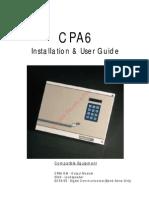 Menvier CPA6 User Guide