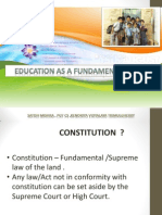 1526357403education as a Fundamental Right