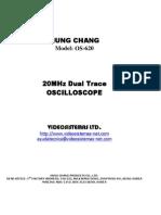 Osciloscopio Hung Chang Os-620