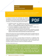 6 pasos fundamentales en los Procesos Participativos comunitarios