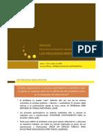 6 pasos en los Procesos Participativos comunitarios (ppt)