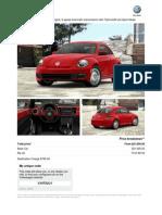2013 Beetle Information