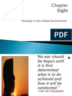 8 Strategy in Global Environment
