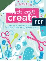 103703845 101 Ways to Stitch Craft Create