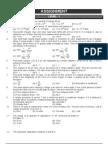 Electrostatics practice problems