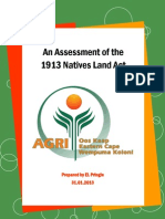 AN ASSESSMENT OF THE 1913 NATIVES LAND ACT 31.01.2013.pdf