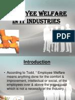 Employee Welfare in IT Sector