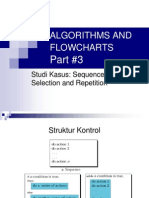 Algorithms and Flowcharts III