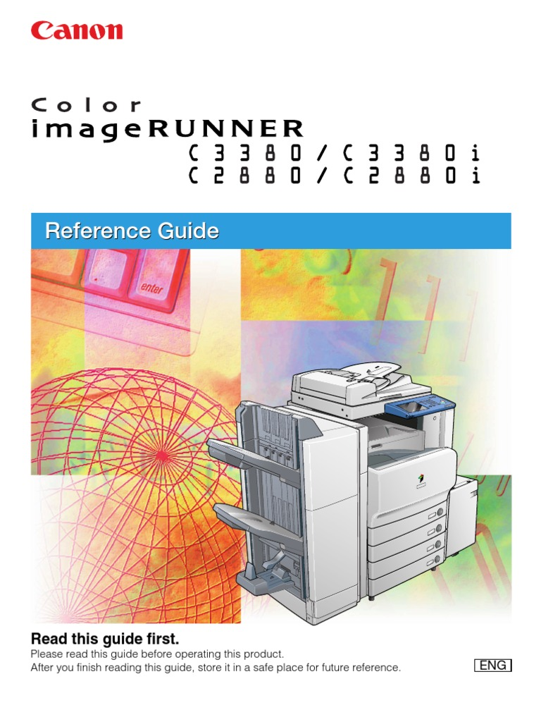 iR-C3380 Reference Manual | Online And Offline | Electromagnetic  Interference