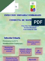 Infección urinaria y embarazo (Conducta de la matrona)