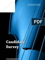 Candidate Survey 2012