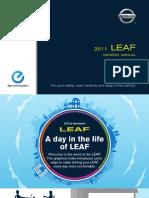 Nissan-Leaf 2011 User Manual