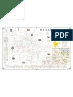 Map Uttarakhand