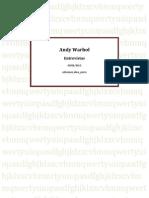 Andy Warhol - Entrevista