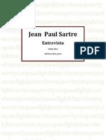 Jean-Paul Sartre - Entrevista