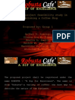 Robusta coffee shop - a feasibility study
