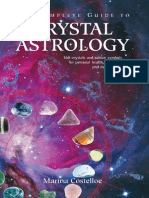 Astrology using crystals