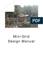Mini Grid Design Manual