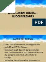 MODEL AKIBAT LOGIKAL – RUDOLF DREIKURS