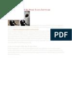 Cara Convert PDF Ke Word Tanpa Software