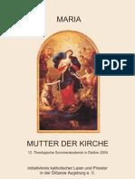 12 Theologische Sommer Akademie Giessen (2004) Maria – Mutter der Kirche.pdf