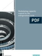 Modulating Capacity Control in the Refrigeration Cycle