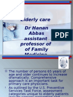 Comprehensive Elderly Care