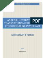Analysis of Strategy of TNC Canon Vietnam