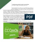 Conocity en Digital Storytelling Valencia DST2012