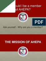Why Join AHEPA Presentation. American Hellenic Educational Progressive Association