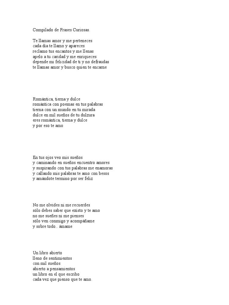 Compilado De Frases Curiosas