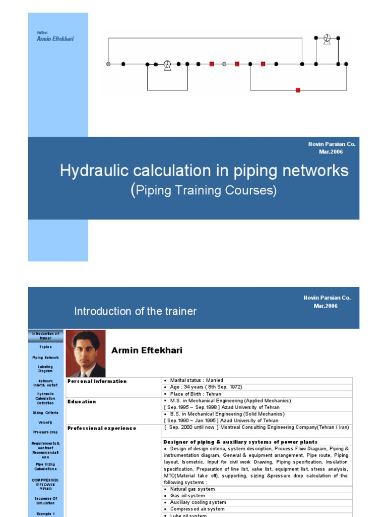 Hydraulic calculation lecture-Piping | Fluid Dynamics | Fire Sprinkler  System
