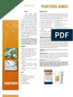 Penetron Admix Flyer