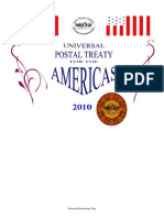 Postal Treaty 2010 for the Americas