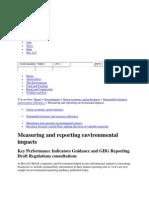 Environmental Reporting 3