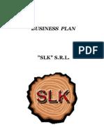 Business Plan-SLK SRL