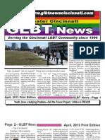 GLBT News April 13 Print Edition