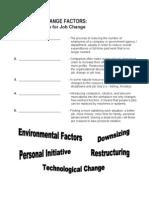 job change factors handout